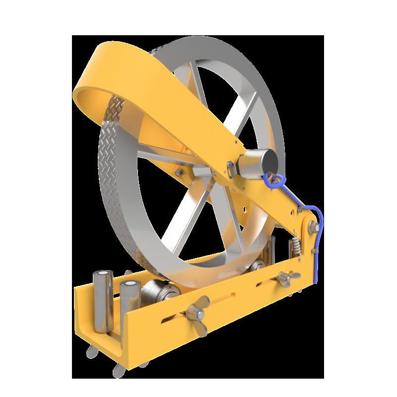Wheel type length counter Image